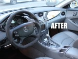 CLS63 interior AFTER