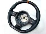 Gallardo 2008 orange carbon steering wheel (2)
