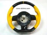Gallardo carbon yellow steering wheel_001