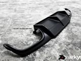 arkym C63 rear diffuser