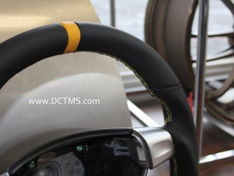 997 triangle sport flat bottom steering wheel (1)